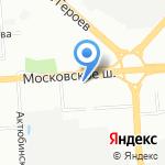 Декор-НН на карте Нижнего Новгорода