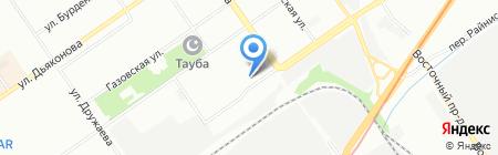 Телец на карте Нижнего Новгорода