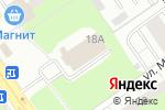 Схема проезда до компании Амира в Нижнем Новгороде