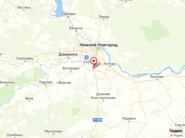 поселок Комсомольский на карте