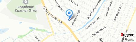 Промрезерв на карте Нижнего Новгорода