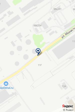 АВТОЗАВОДСКИЙ СТРОИТЕЛЬНЫЙ КОМБИНАТ на карте Нижнего Новгорода