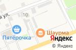 Схема проезда до компании Шиномонтажная мастерская в Новинках