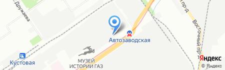 Солана Авто на карте Нижнего Новгорода