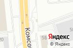 Схема проезда до компании АЗС №305 в Нижнем Новгороде