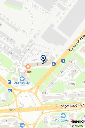АРГУС ЧАСТНОЕ ОХРАННОЕ ПРЕДПРИЯТИЕ на карте Нижнего Новгорода