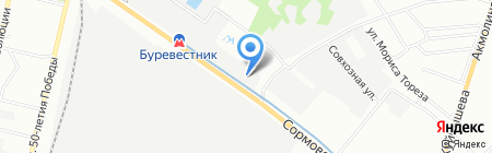 Центр коммерческих покрытий на карте Нижнего Новгорода