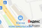Схема проезда до компании ЕВРАЗ КОМПЛЕКТ в Нижнем Новгороде