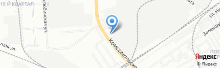 ЛВИ на карте Нижнего Новгорода