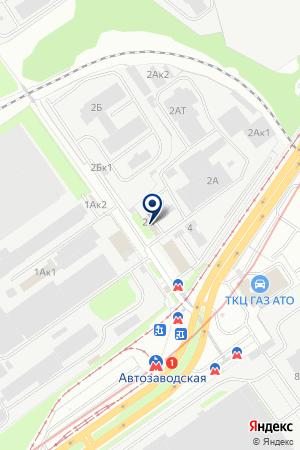 ПКФ ПРОМИКС на карте Нижнего Новгорода