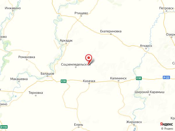 село Софьино на карте