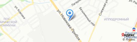 Континент-сервис на карте Нижнего Новгорода