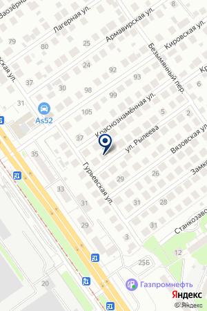 ДЕТСКИЙ САД №23 на карте Заволжья
