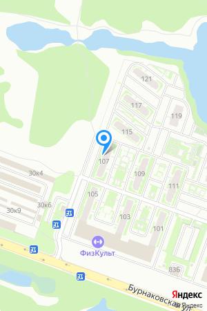 ЖК Бурнаковский, №40 (по генплану) на Яндекс.Картах