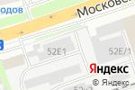 Схема проезда до компании ИНСЕРК в Нижнем Новгороде