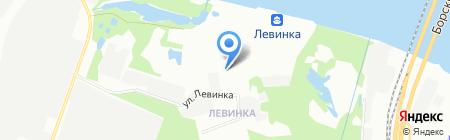 ПолимерСнабСтрой на карте Нижнего Новгорода