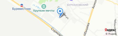 СРС-Авто на карте Нижнего Новгорода