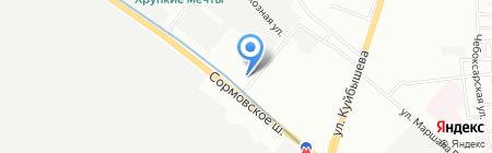Теле2-Нижний Новгород на карте Нижнего Новгорода
