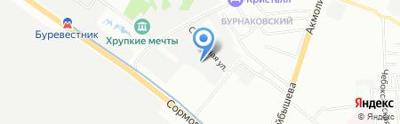 Партнер Сервис НН на карте Нижнего Новгорода