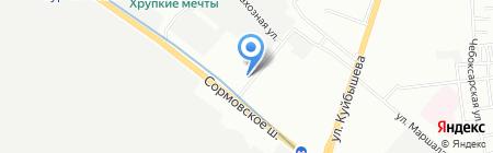 МАГ Груп на карте Нижнего Новгорода