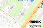Схема проезда до компании Автозвук в Нижнем Новгороде