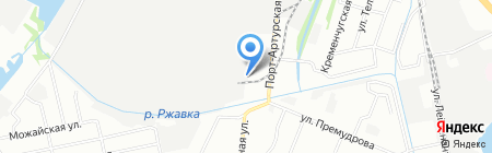 Перевозов на карте Нижнего Новгорода