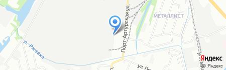 Славянские обои на карте Нижнего Новгорода