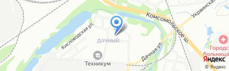 Средняя общеобразовательная школа №138 на карте Нижнего Новгорода