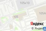 Схема проезда до компании Авто-Альянс в Нижнем Новгороде