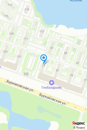 ЖК Бурнаковский, Бурнаковская ул., 83 на Яндекс.Картах