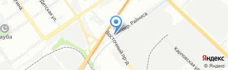 Мимино на карте Нижнего Новгорода