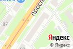 Схема проезда до компании Ателье на проспекте Ленина в Нижнем Новгороде