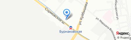 Мамины детки на карте Нижнего Новгорода