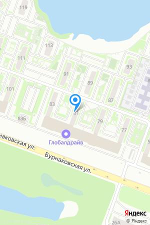 ЖК Бурнаковский, Бурнаковская ул., 81 на Яндекс.Картах