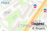 Схема проезда до компании Велл в Нижнем Новгороде