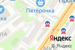 Схема проезда до компании Бристоль в Нижнем Новгороде