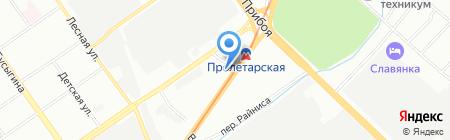 Город-загород на карте Нижнего Новгорода