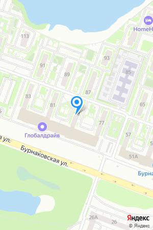 ЖК Бурнаковский, Бурнаковская ул., 79 на Яндекс.Картах