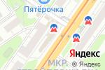 Схема проезда до компании Хилтон в Нижнем Новгороде