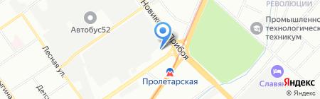 Гринатом на карте Нижнего Новгорода