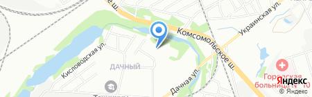Обжорка на карте Нижнего Новгорода