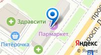 Компания Домос на карте