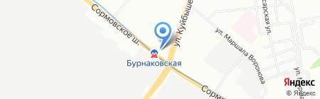 VINORDER.RU на карте Нижнего Новгорода