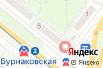 Схема проезда до компании 5 звезд в Нижнем Новгороде