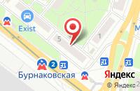 Схема проезда до компании Арит в Нижнем Новгороде