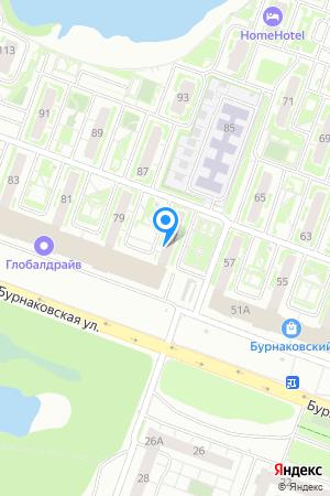 ЖК Бурнаковский, Бурнаковская ул., 77 на Яндекс.Картах