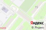 Схема проезда до компании Поляна в Нижнем Новгороде