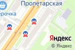 Схема проезда до компании У метро в Нижнем Новгороде