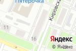 Схема проезда до компании Ольмакс в Нижнем Новгороде