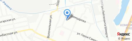 Ассорти на карте Нижнего Новгорода
